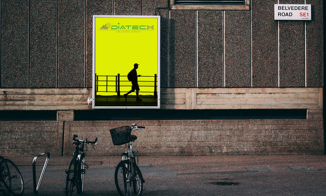 3309 - Coated Paper Fluorescent Yellow 95 matt