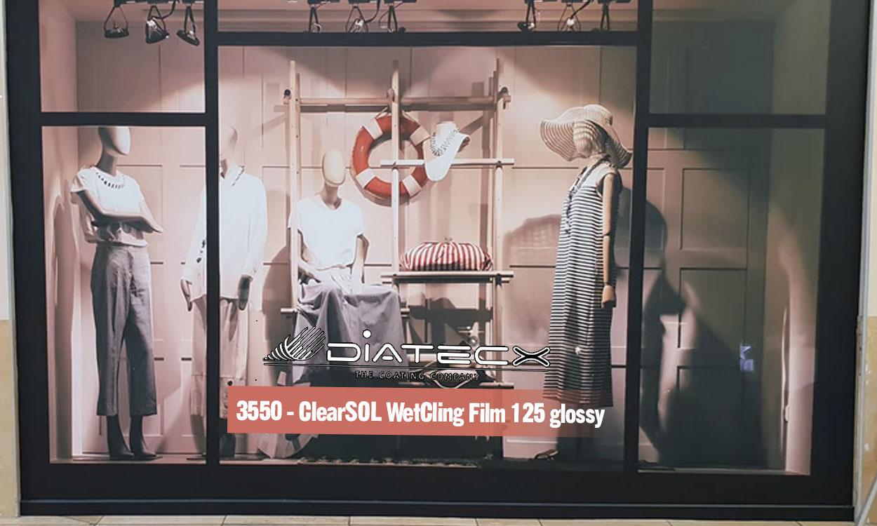 3550 - ClearSOL WetCling Film 125 glossy