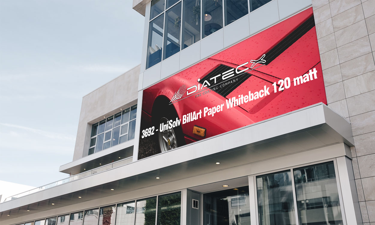 3692 - UniSolv BillArt Paper Whiteback 120 matt