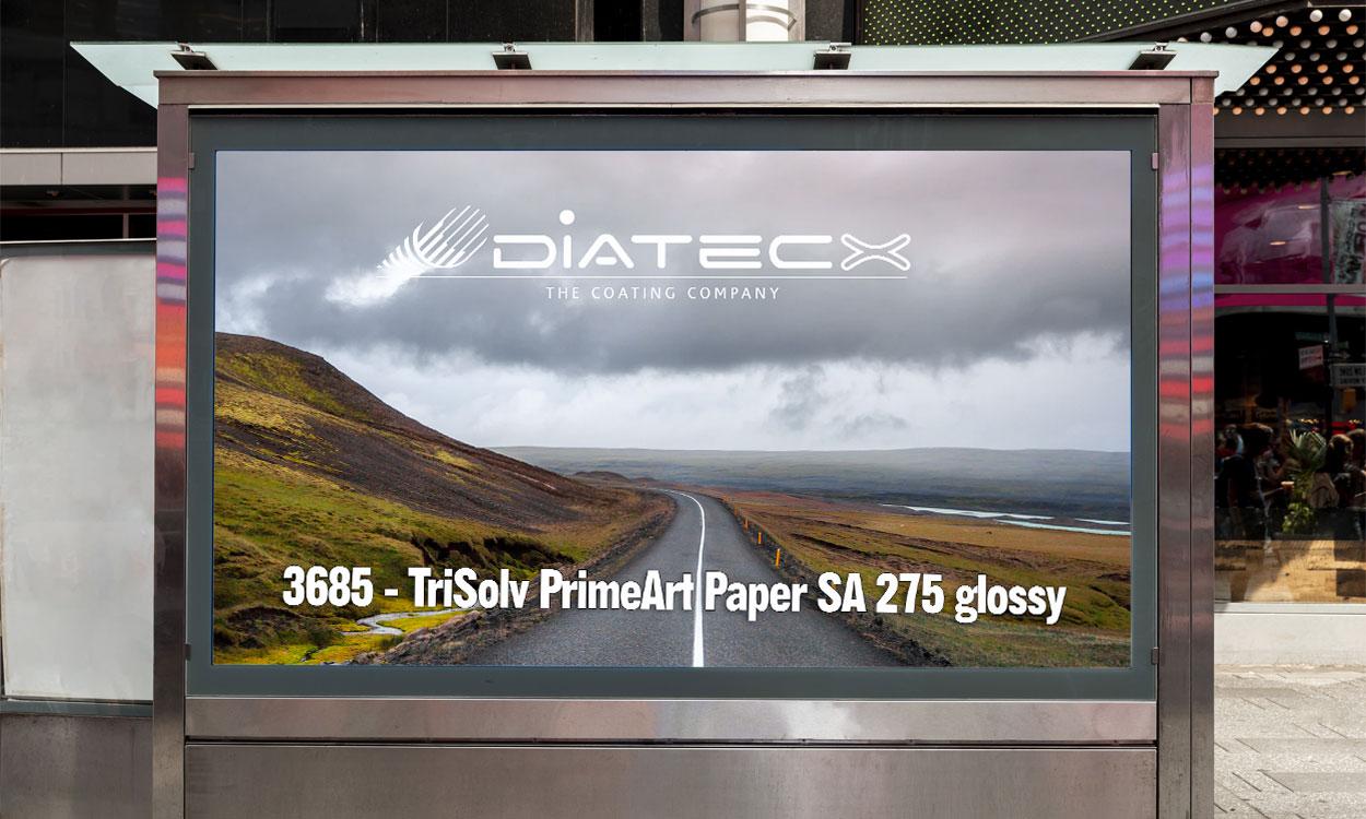 3685 - TriSolv Poster Paper Prime 135 SA Glossy
