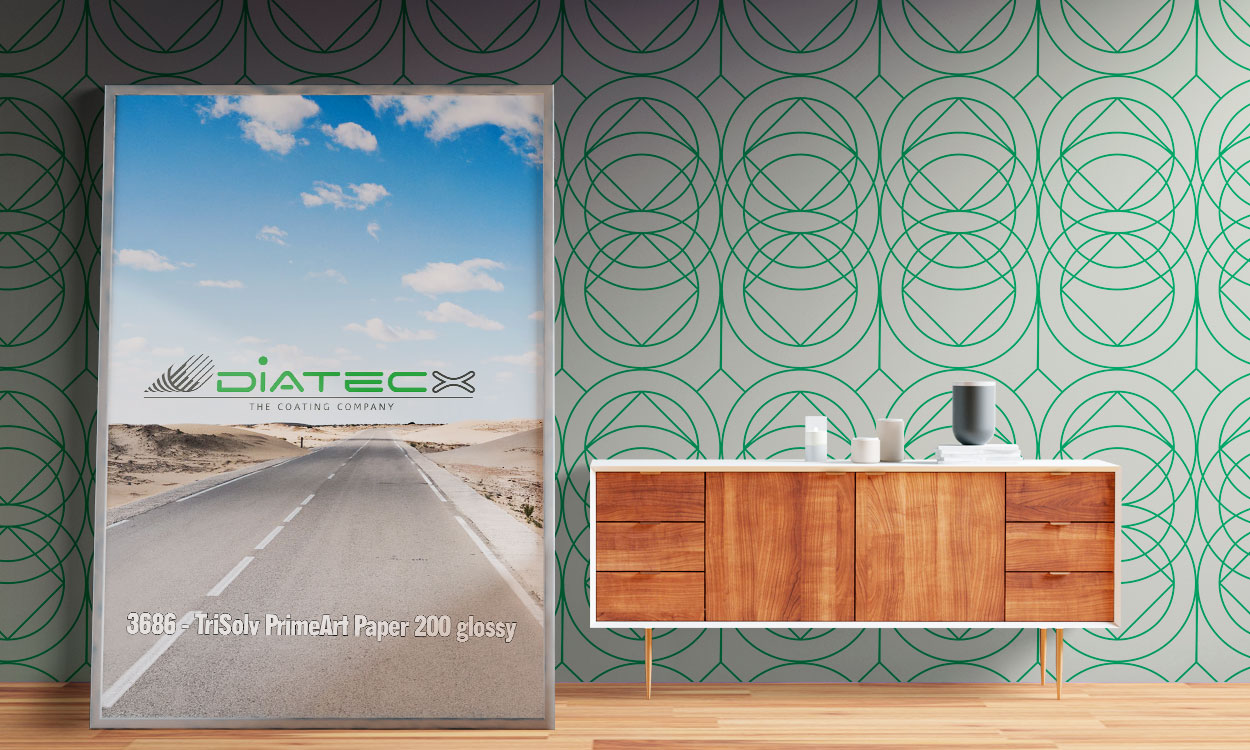 3686 - TriSolv Poster Paper Prime 200 Glossy